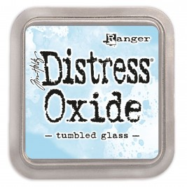 Tinta Distress Oxide -Tumbled Glass
