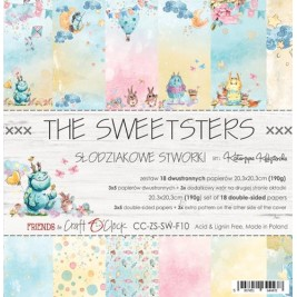 The Sweetsters  8x8 Craft O´Clock