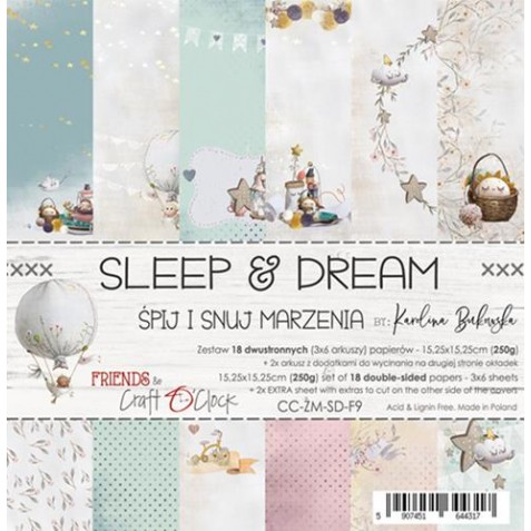 Sleep and Dream  6x6 Craft O´Clock
