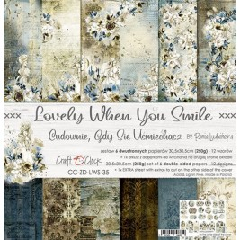 Lovely When You Smile  12x12- Craft O´Clock