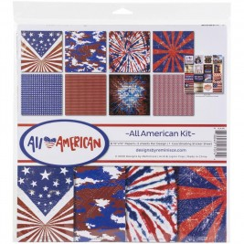 All American Kit 12x12 - Designs by Reminisce
